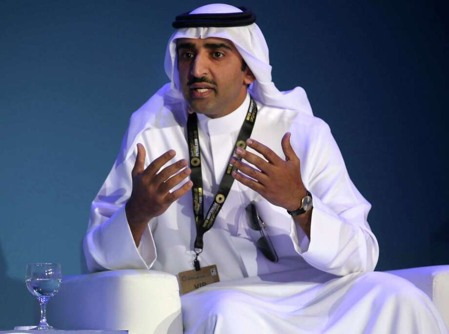 Bahraini Oil Minister Sheikh Mohammed bin Khalifa Al Khalifa. Photo: Jon Gambrell, STF / Associated Press / Copyright 2016 The Associated Press. All rights reserved.