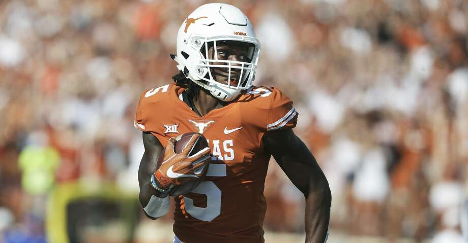 The Texans worked out University of Texas cornerback Holton Hill at their local prospect day Saturday. Photo: Tom Reel/San Antonio Express-News