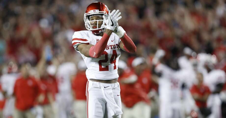 Cornerback Jeremy Winchester has left the University of Houston football program, the school announced Saturday. Photo: Joe Robbins/Getty Images