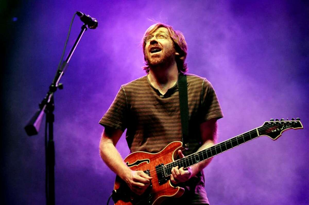 Trey Anastasio performs with Phish on Friday, Nov. 27, 2009, at the Times Union Center in Albany, N.Y. (Cindy Schultz / Times Union)