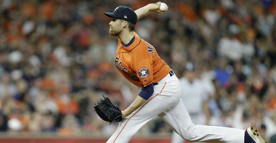 PHOTOS: Astros game-by-gameHouston Astros Collin McHugh pitches against the San Diego Padres during the seventh inning of MLB game at Minute Maid Park Friday, April 6, 2018, in Houston. ( Melissa Phillip / Houston Chronicle )Browse through the photos to see how the Astros have fared through each game this season. Photo: Melissa Phillip/Houston Chronicle