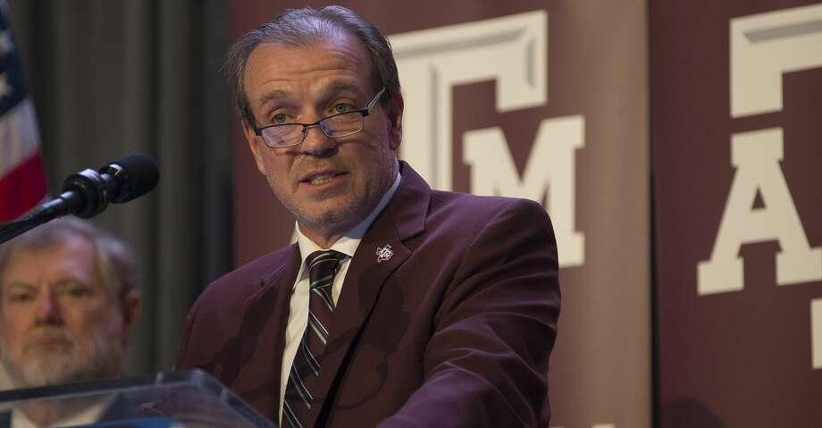 New Texas A&M University head football coach Jimbo Fisher talks during a press conference at the school's Hall of Champions at Kyle Field, Monday, Dec. 4, 2017, in College Station. ( Mark Mulligan / Houston Chronicle ) Photo: Mark Mulligan/Houston Chronicle