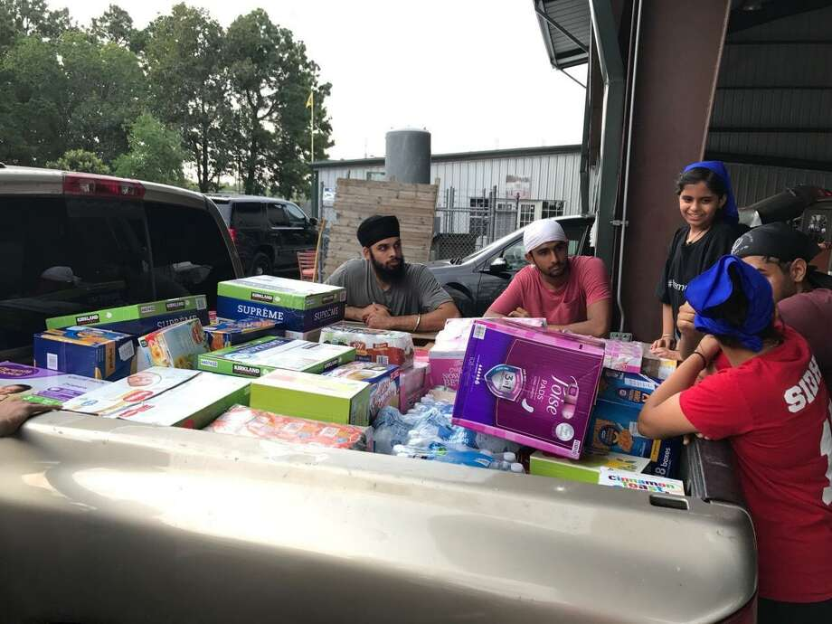 Members of the Houston Sikh community responded to Hurricane Harvey last year with trucks filled with supplies from all across the nation. The Sikh tradition teaches that service to humanity is a core part of being a good person.