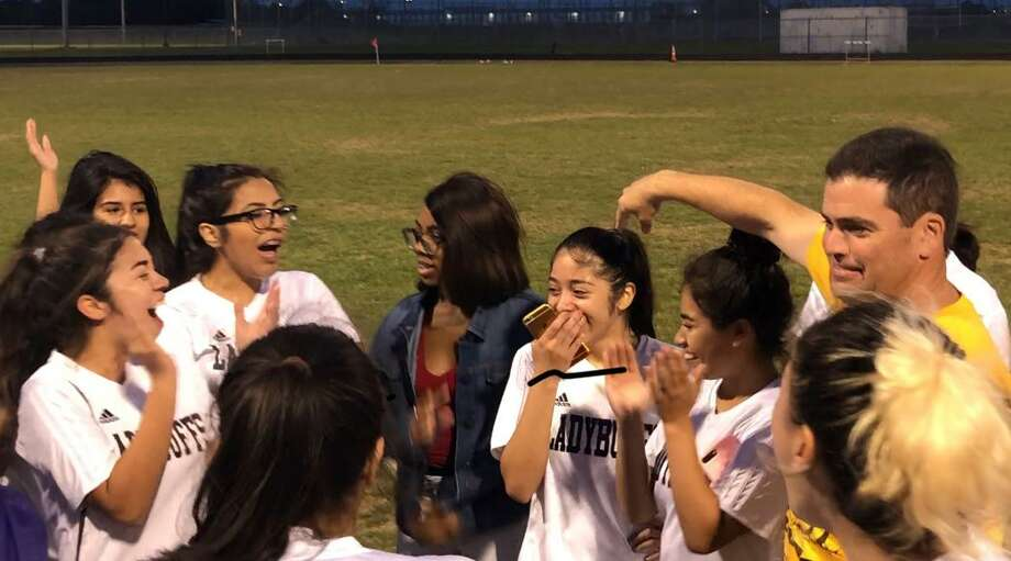 The Fort Bend Marshall girls soccer team stays upbeat despite a tough season and celebrates even the smallest achievements.