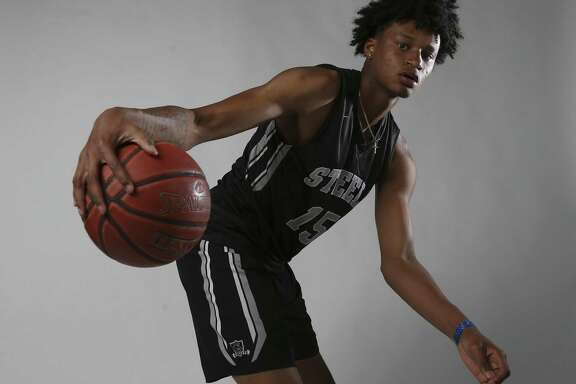 Steele's Gerald Liddell is the Boys Player of the Year for the 2018 Express-News All-Area Super Team. (Kin Man Hui/San Antonio Express-News)