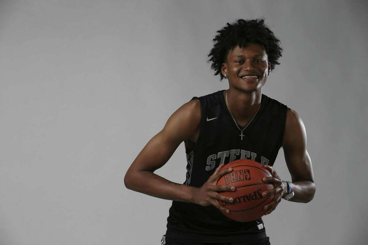 Steele senior Gerald Liddell, who has committed to Texas, is the 2017-18 Express-News Boys Basketball Player of the Year.