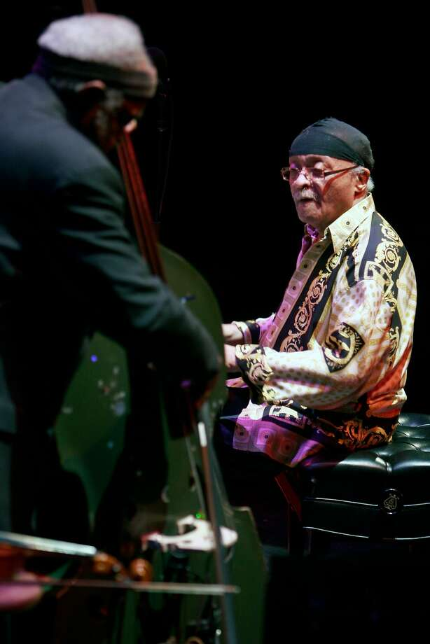 Cecil Taylor enthralled audiences with his bold improvisation and dazzling physicality. Photo: Rahav Segev / New York Times 2007