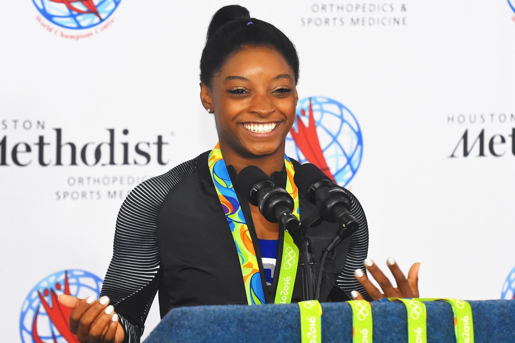 Olympic Star Simone Biles Better Than Ever