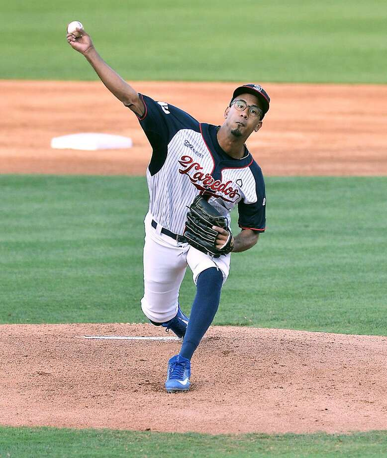 Alexis Candelario threw seven scoreless outings but the Tecolotes Dos Laredos lost 1-0 to Rieleros de Aguascalientes on Wednesday in Nuevo Laredo. Photo: Cuate Santos /Laredo Morning Times File / Laredo Morning Times