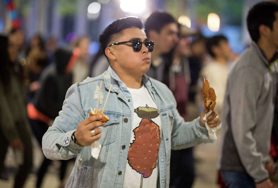 St. Mary's University celebrated homecoming with Baby Bake, Saturday, April 7, 2018. The annual event is a toned-down version of the popular Fiesta Oyster Bake. Photo: B. Kay Richter For MySA