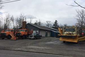 TNT Landscaping, Excavation & Blacktopping at 117 Morris Road in Colonie, where a 61-year-old man was killed after being crushed between two pieces of equipment Saturday, April 7, 2018.
