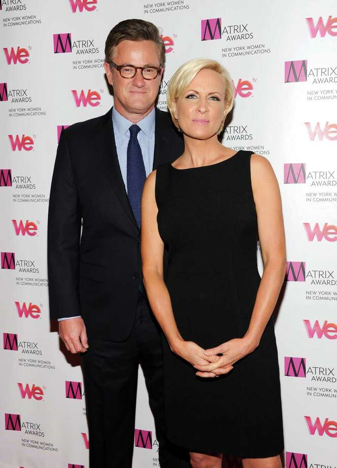 "MSNBC's ""Morning Joe"" co-hosts Joe Scarborough and Mika Brzezinski, right, attend the 2013 Matrix New York Women in Communications Awards at the Waldorf-Astoria Hotel on Monday April 22, 2013 in New York. (Photo by Evan Agostini/Invision/AP) Photo: Evan Agostini / Invision"