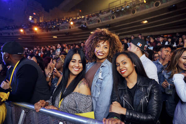 Singer and songwriter Miguel wowed fans at The Aztec Theater Saturday night, April 7, 2018, with his eclectic fusion of R&B, funk, hip hop and rock.