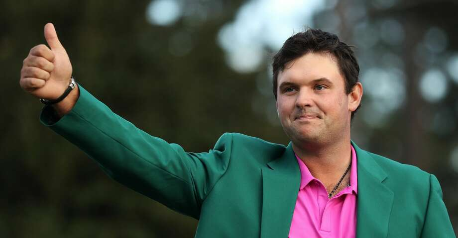 AUGUSTA, GA - APRIL 08:  Patrick Reed of the United States celebrates during the green jacket ceremony after winning the 2018 Masters Tournament at Augusta National Golf Club on April 8, 2018 in Augusta, Georgia.  (Photo by Patrick Smith/Getty Images) Photo: Patrick Smith/Getty Images