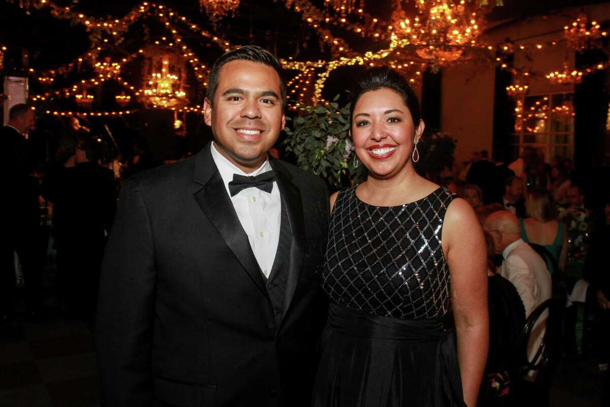 Joe and Monica Casiano at the Society for the Performing Arts Gala.