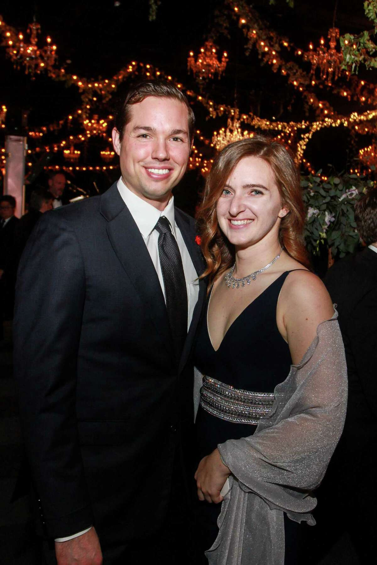Jordan Strauss and Melissa Cassel at the Society for the Performing Arts Gala.