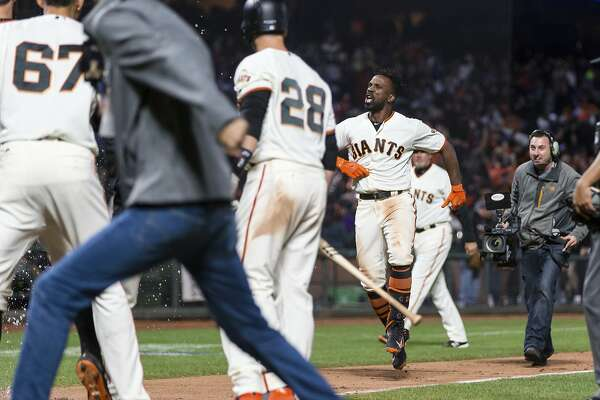 buy popular 6c4ff 206d3 Andrew McCutchen's big night for Giants was cologne-fueled ...