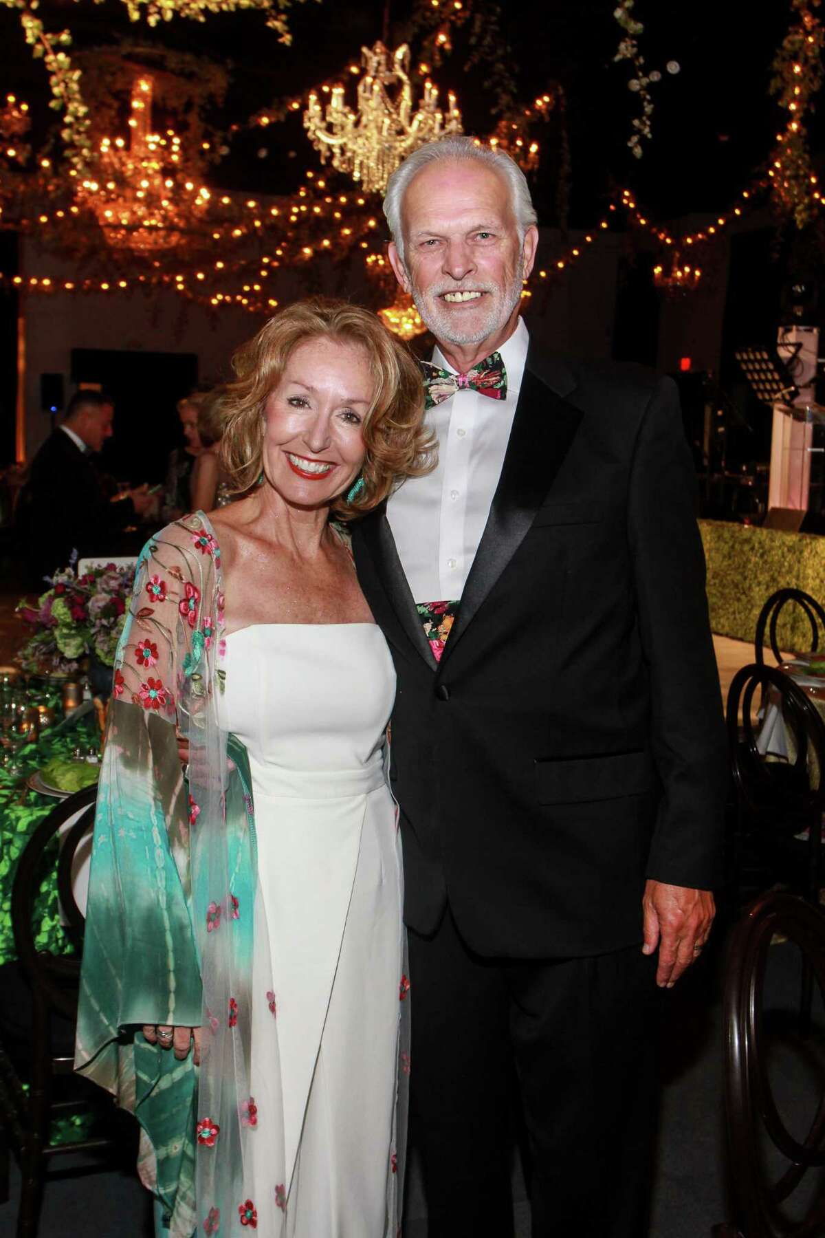 June and Steve Christensen at the Society for the Performing Arts Gala.