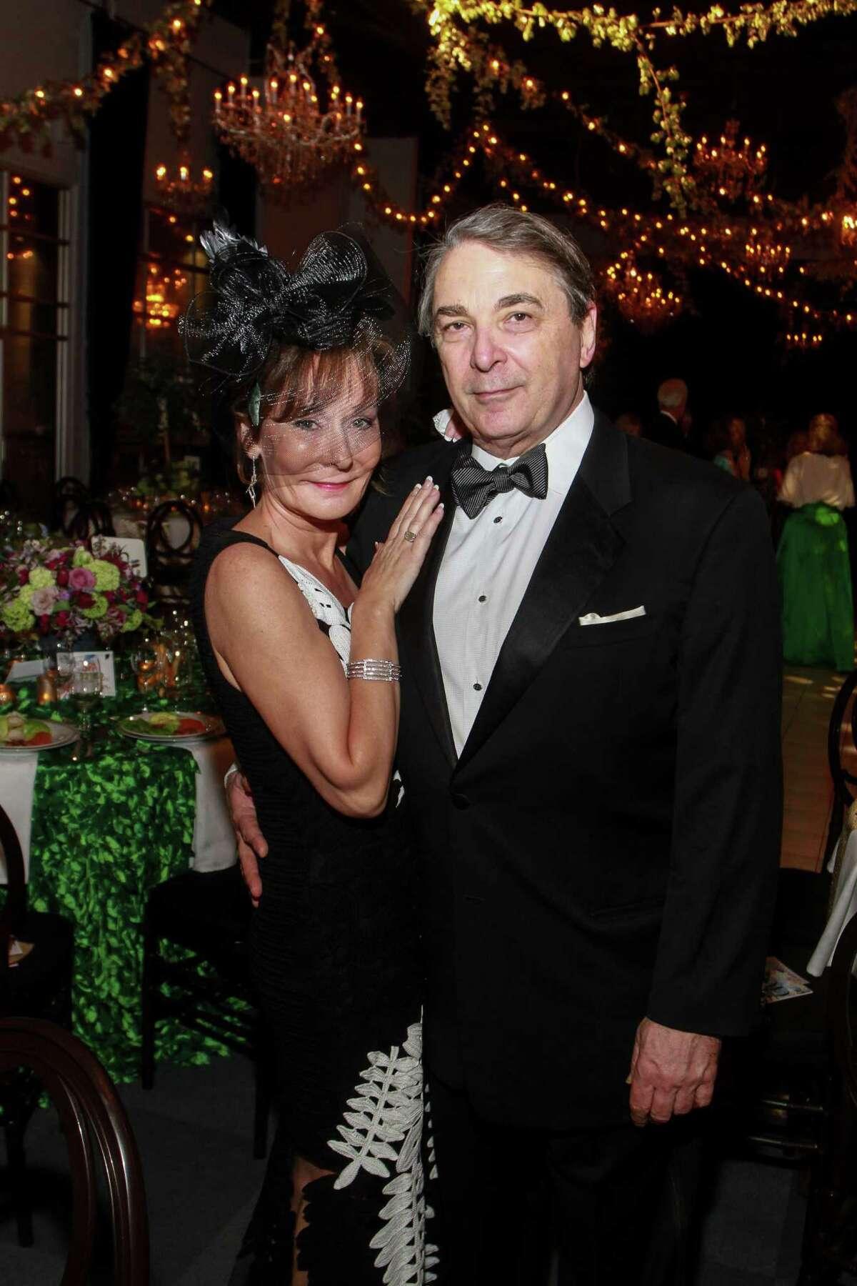 Melanie Gray and Mark Wawro at the Society for the Performing Arts Gala.