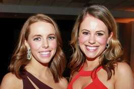 Ashley Trauber, left, and Landi Lausen at the Society for the Performing Arts Gala.