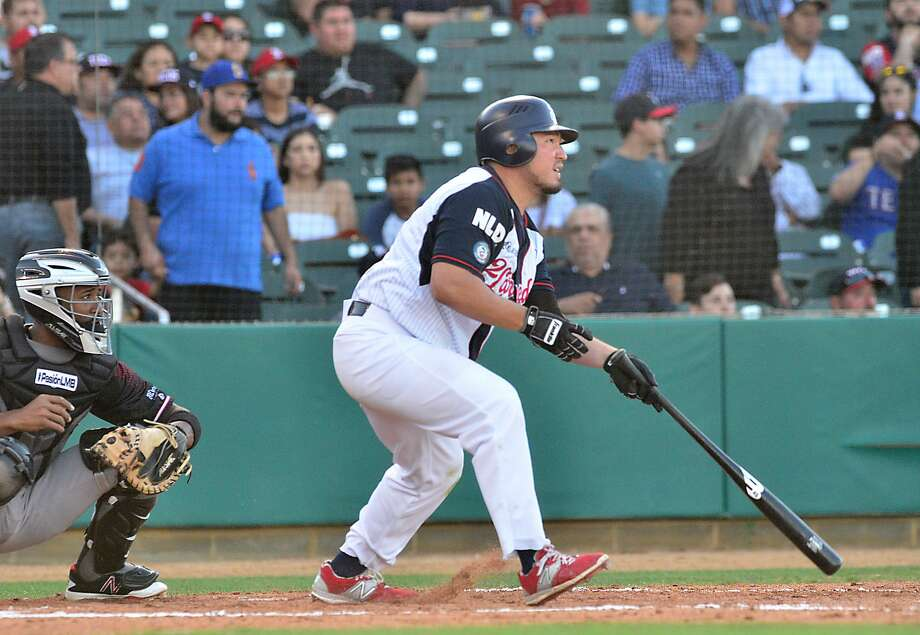 Tecolotes first baseman/designated hitter Carlos Munoz had surgery for a meniscus rupture in Guadalajara and likely could return for the second season of 2018. Photo: Cuate Santos /Laredo Morning Times File / Laredo Morning Times