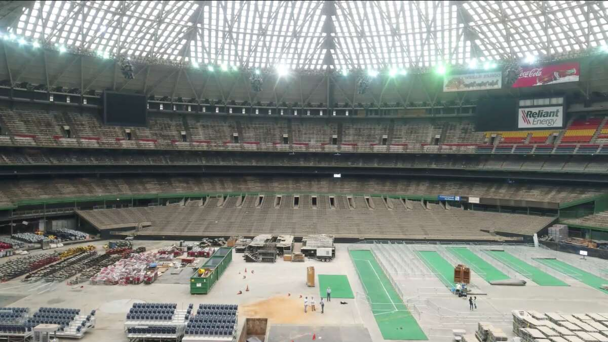 PHOTOS: The weirdest ways people wanted to renovate the Astrodome The inside of the Houston Astrodome as seen on Friday, April 6, 2018. By this time next year construction crews should be well on their way to redeveloping the structure into a brand-new event space. >>>See more photos from the strangest proposals of what to do with the Dome...