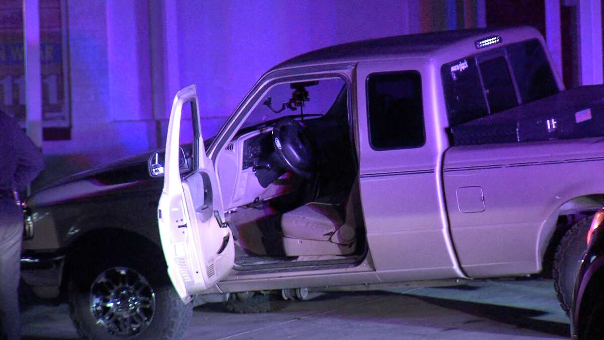 The victim was driving in the area of South Zarzamora Street and West Theo Avenue around 10:20 p.m. when an unknown number of suspects pulled up next to him and opened fire.