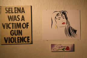 """On Friday, the Laredo Center for the Arts hosted """"Como La Flor,"""" a Selena inspired art exhibit. The event featured a variety of artists, a dance by a local school, food and activities for all ages."""