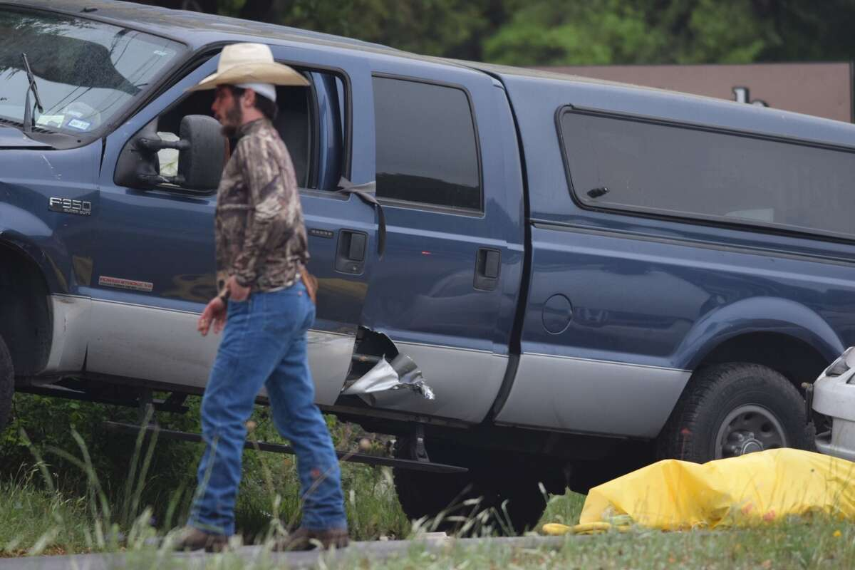 A wreck near the Bulverde United Methodist Church on US 281 left one person dead on Monday, April 9, 2018.