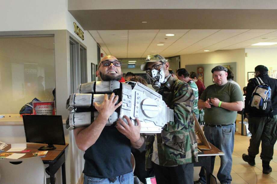 Cosplay (costumed play) will be part of the fun when Brass City Comic Con 8 takes place at Naugatuck Valley Community College in Waterbury on April 22. Photo: Brass City Gamers Tournament / Contributed Photo