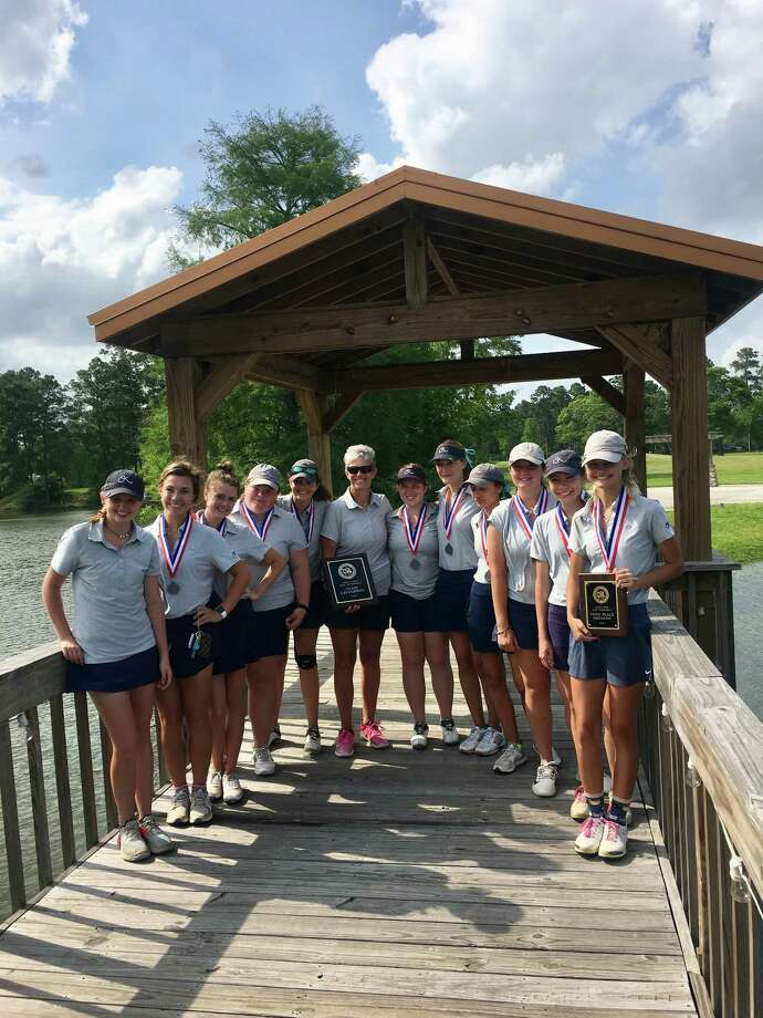 The Kingwood A and B girls golf teams finished first and second at the District 21-6A championship on April 2-3 at The Golf Club of Atascocita.