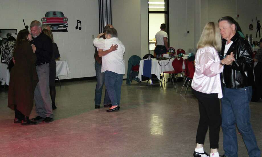 Couples take to the dance floor during the annual Dinner and Dance fundraiser for the Coldspring Community Center held on April 7. Photo: Jacob McAdams