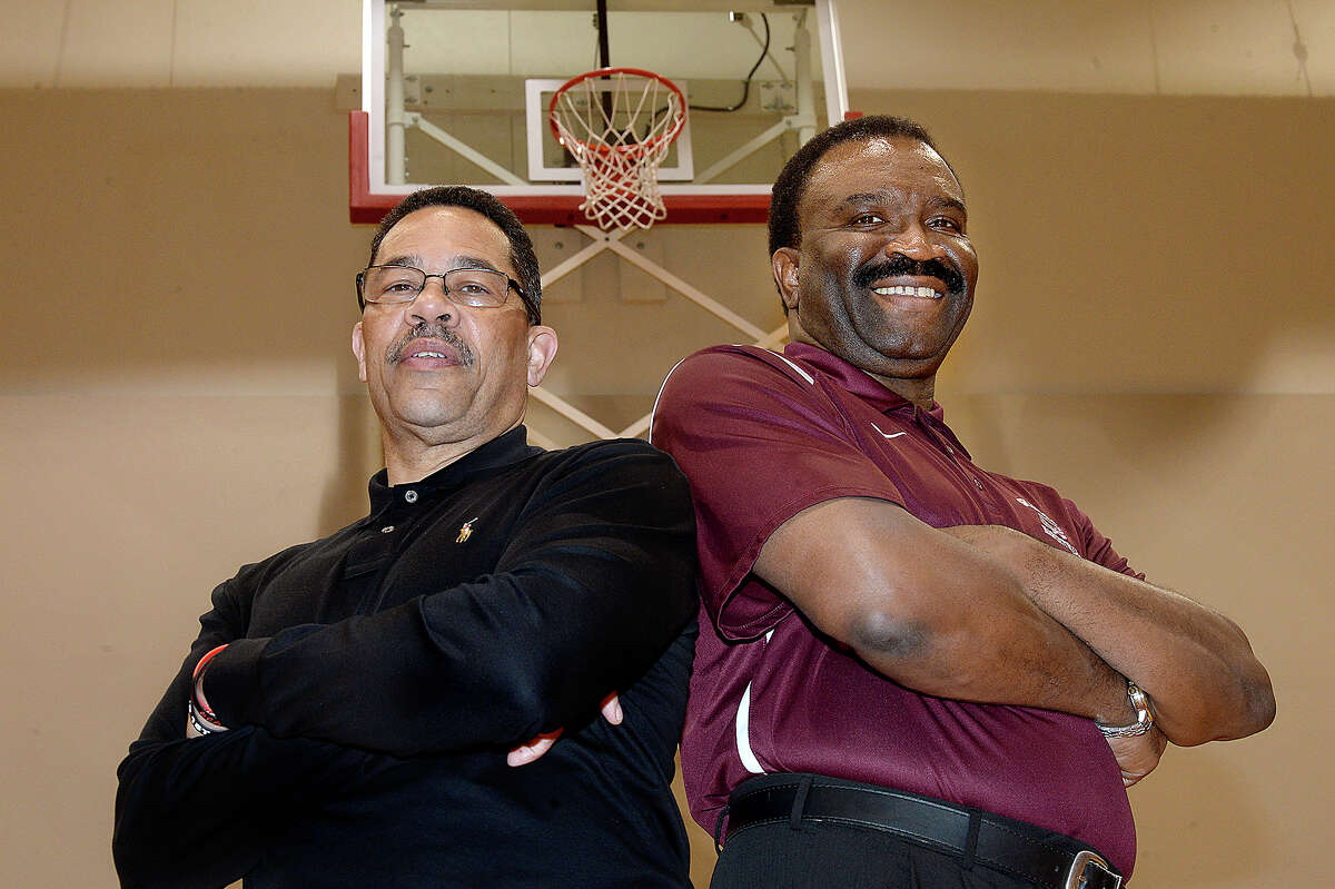 Super Gold Coaches of the Year Kenneth Coleman ofPort Arthur Memorial and Joe Sigler of Silsbee, will be honored at this year's banquet. Photo taken Thursday, March 29, 2018 Kim Brent/The Enterprise