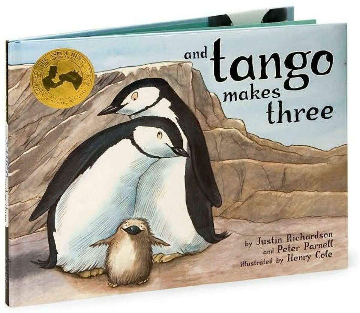 And Tango Makes Three, the story of a same-sex relationship between penguins, was one of the American Library Association's Top 10