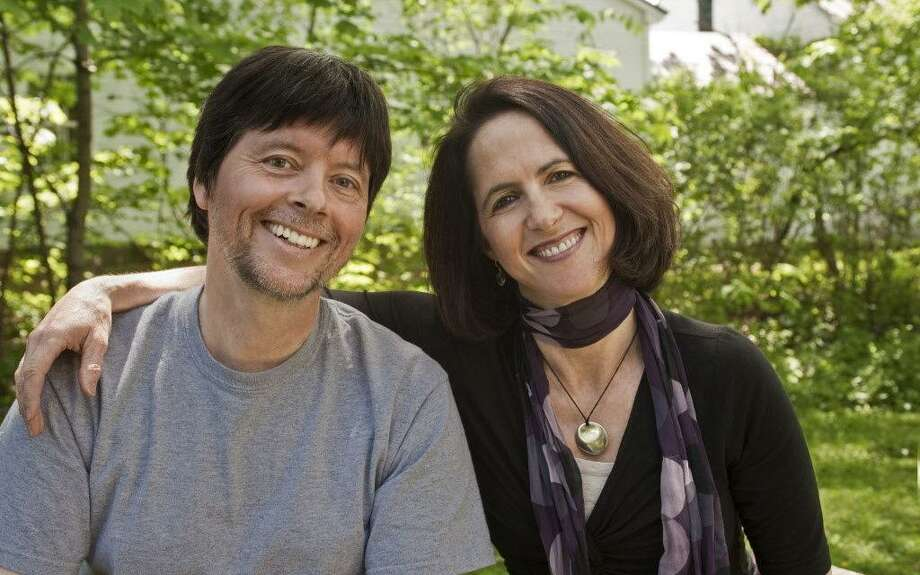 Creative partners Lynn Novick and Ken Burns have worked on some of the most acclaimed documentaries of all time. Novick will visit Connecticut on April 22 to raise funds for the Kent Memorial Library. Photo: Sam Harris / Contributed Photo