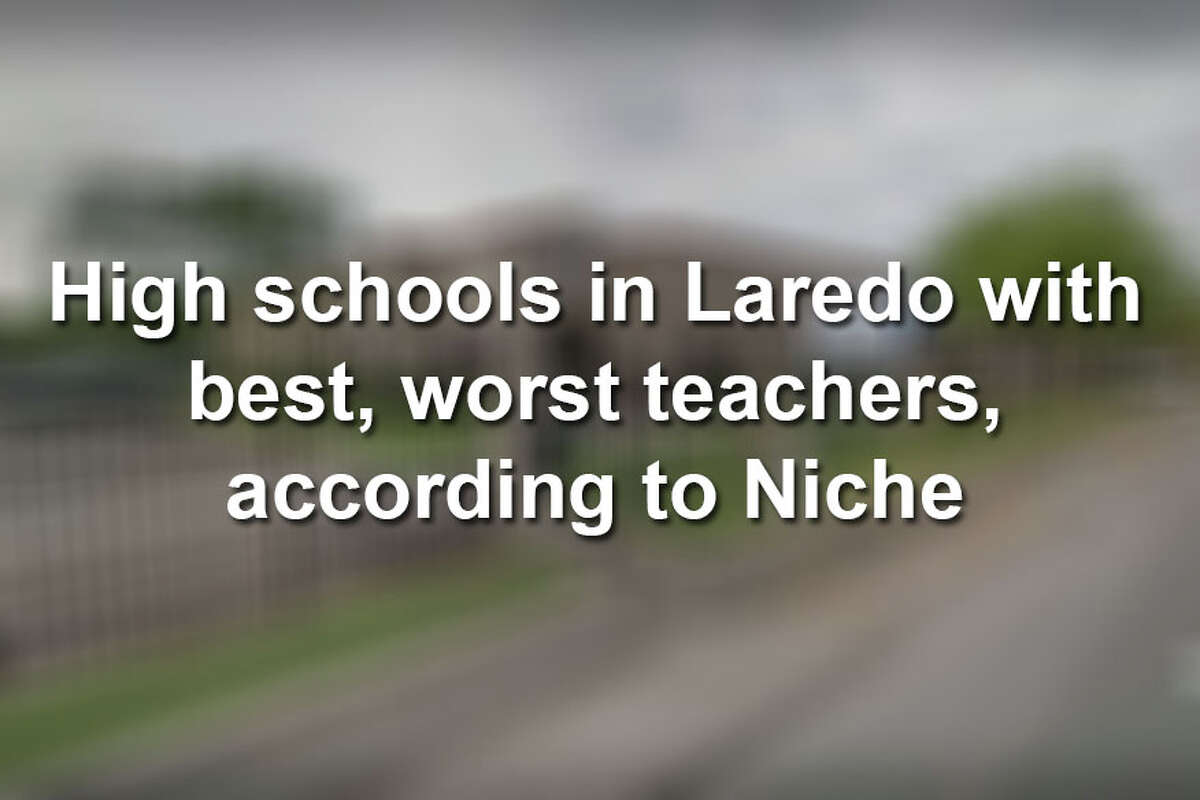 Scroll through to see which Laredo high school has the highest rated teachers.