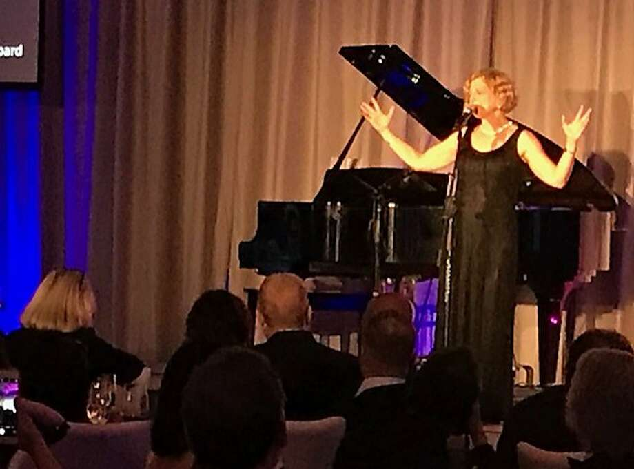 Carey Perloff is honored at the ACT gala. Photo: Leah Garchik / The Chronicle