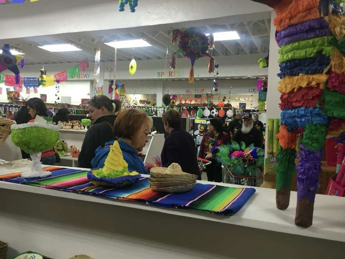 The rush to stock up on decorations for San Antonio's biggest party is a tradition throughout the city and Amols' has been the headquarters for generations. But this year, Fiesta revelers are not lurking for one of 10 parking spaces or cramming into the previous South Flores location.