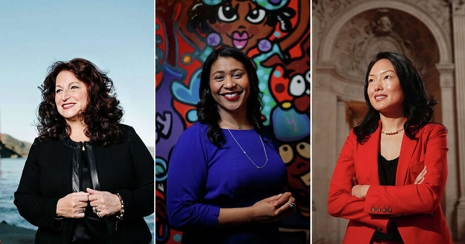 Angela Alioto, London Breed and Jane Kim are all running for Mayor of San Francisco. They will participate in a debate hosted by The Chronicle and the City Club.