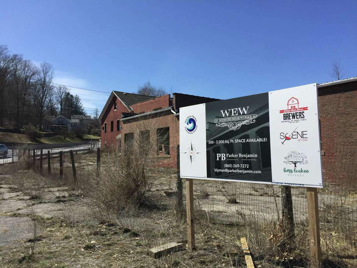 The Winsted Edge Works, located at 32 Lake Street, as seen Monday. Parker Benjamin Real Estate officially purchased the property Friday.