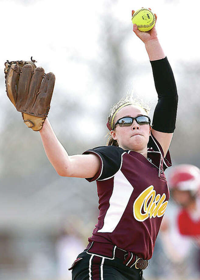 East Alton-Wood River ace lefty Morgan Moxey will play next season at Wabash Valley Community College in Mount Carmel. Photo: Billy Hurst File Photo | For The Telegraph