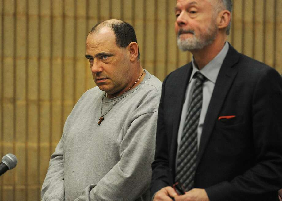 Accused in the Shelton murder of his wife, Thomas Infante appeared with his lawyer John Gulash in Superior Court in Milford, Conn. in March, 2016. Photo: Brian A. Pounds Brian Pounds / Hearst Connecticut Media / Connecticut Post