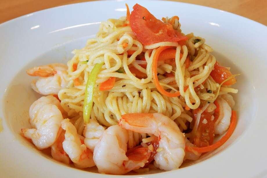 Tagliolini with shrimp at Fresco Cafe Italiano Photo: Fresco! Cafe Italiano / Fresco! Cafe Italiano