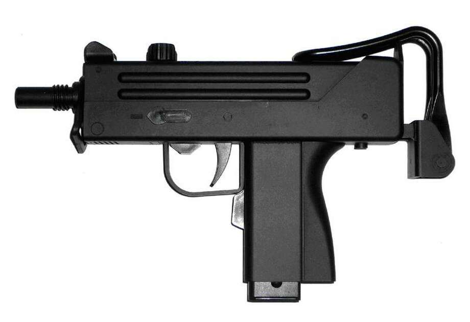 A Fairfield students sent a Snapchat to a student in Trumbull of him holding a Mac-11, similar to the one pictured here. Photo: Contributed Photo