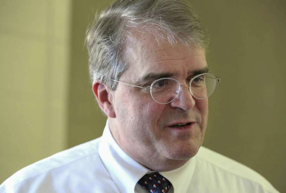Congressman John Culberson is photographed during an interview before meeting his constituents from the 7th Congressional Distric for a town hall at Spring Branch Middle School Saturday, March 25, 2017, in Houston. ( Yi-Chin Lee / Houston Chronicle ) Photo: Yi-Chin Lee, Staff / Houston Chronicle / Stratford Booster Club