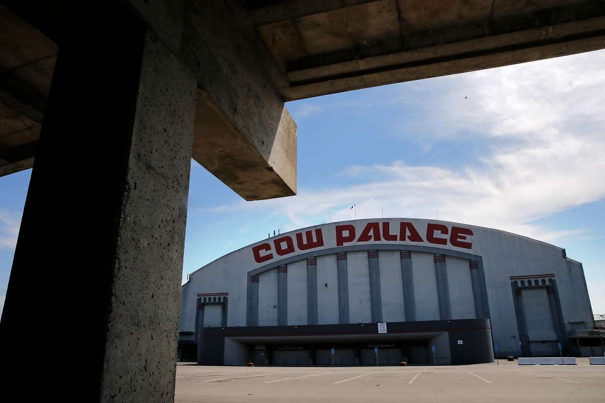 The Cow Palace event center in Daly City, Calif., as seen on Thurs. September 10, 2015.