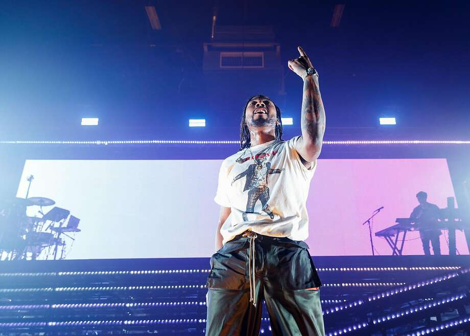 Miguel performs in Vancouver on Feb. 24. Photo: Andrew Chin / Getty Images