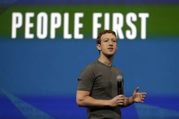 File - In this April 30, 2014 file photo, Facebook CEO Mark Zuckerberg gestures while delivering the keynote address at the f8 Facebook Developer Conference in San Francisco. Zuckerberg and his wife, Priscilla Chan, are donating $120 million over the next five years to the San Francisco Bay Area�s public school system. The gift is the biggest allocation to date of the more than $1 billion in Facebook stock the couple pledged last year to the nonprofit Silicon Valley Community Foundation. (AP Photo/Ben Margot, file)