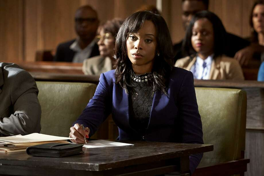 """Erica Ash in a scene from the BET series """"In Contempt."""" Photo: BET / BET"""