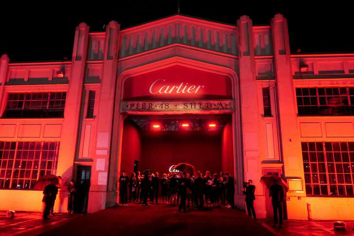 Cartier's Bold and Fearless party drew a wealth of film, fashion and music talent to Pier 49 on April 6 for the launch of the Santos watch.